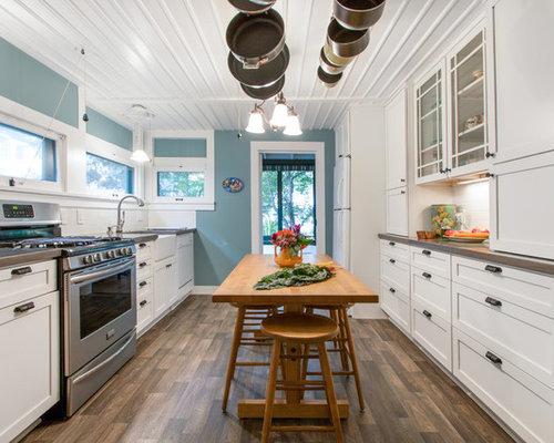 Piccola cucina Milwaukee - Foto e Idee per Ristrutturare e Arredare