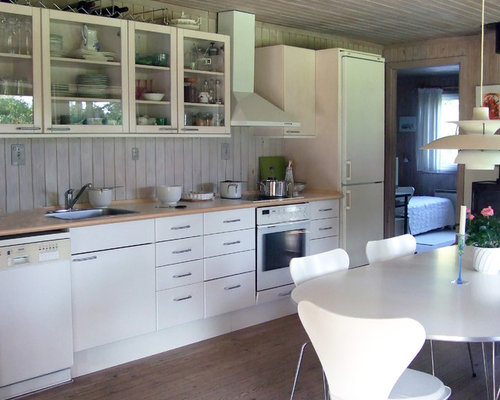 contemporary white kitchen cabinets ideas, pictures, remodel and decor, Kitchen design
