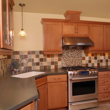 Traditional Kitchen by Craftsmen Construction Inc.