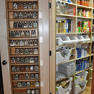 Small Pantry space organized