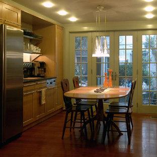 Elegant kitchen photo in Philadelphia
