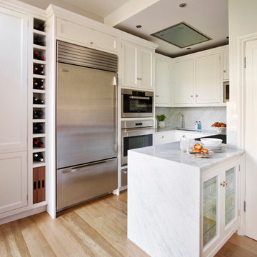 Small space, big kitchen.