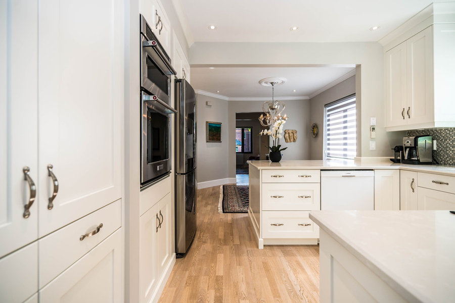 Small Westmount Home get a full gut renovation
