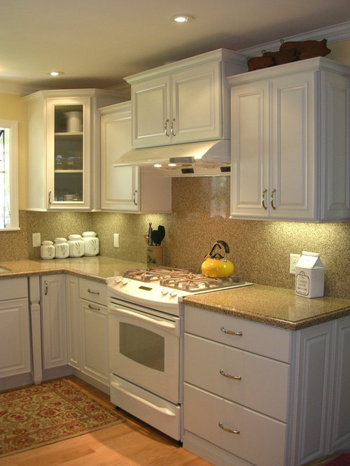 Small White Kitchen Houzz