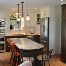 Traditional Kitchen by Attleboro Kitchen and Bath