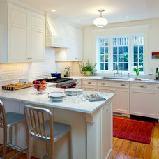 Traditional Kitchen by Jeanne Finnerty Interior Design