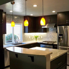 modern kitchen by Yoko O. Interior Design, ASID Allied Member