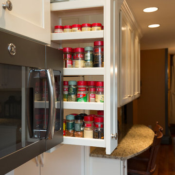 Smart Storage Solution in Kitchen Remodel Project