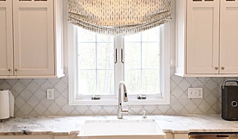 Smith & Noble window treatments designed by Kristen Wall
