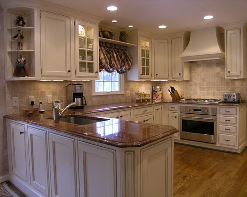 Chocolate Brown Granite Home Design Ideas, Pictures, Remodel and Decor