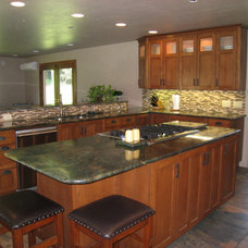 Traditional Kitchen by AD Construction and Remodeling, LLC