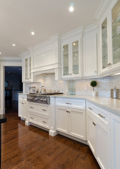 Transitional Kitchen by YourStyle Kitchens Ltd