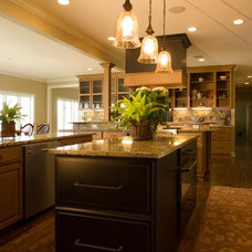 Contemporary Kitchen by Smithport Cabinetry