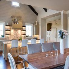 Transitional Kitchen by JacksonBuilt Custom Homes