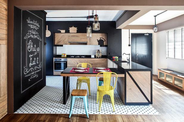 Contemporary Kitchen by DISTINCTidENTITY Pte Ltd