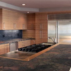 Contemporary Kitchen by Laguna Bamboo