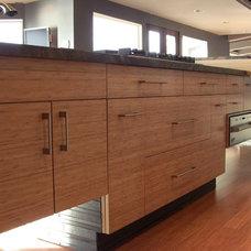 Contemporary Kitchen by Laguna Bamboo