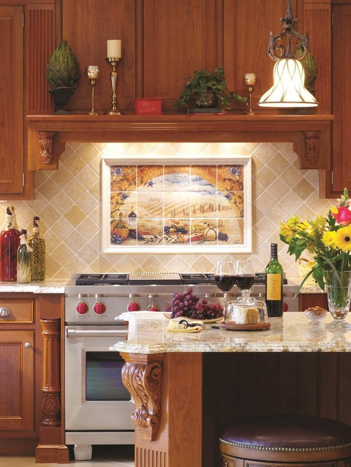 Tuscan Backsplash Ideas Pictures Remodel And Decor
