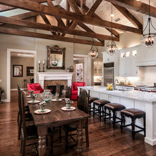 Farmhouse Kitchen by Dibros Design & Construction