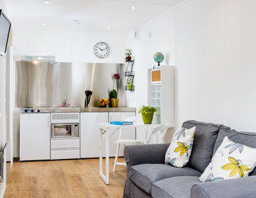 Snoozebox! Shipping Container into a Home