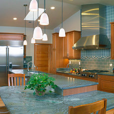 contemporary kitchen by Pennington Builders