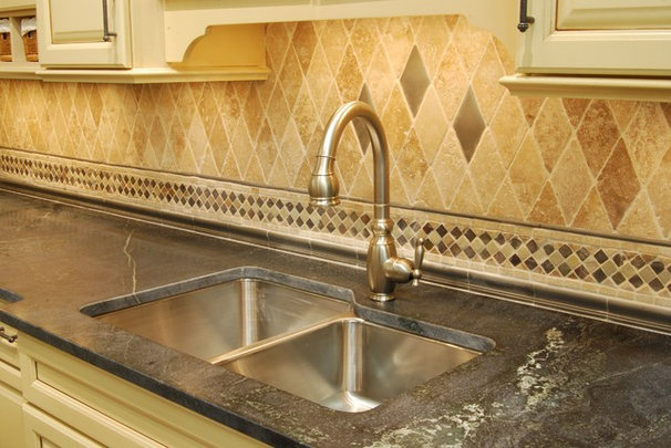 Traditional Kitchen by Premier Surfaces