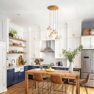 75 Beautiful L Shaped Kitchen Pictures Ideas Houzz