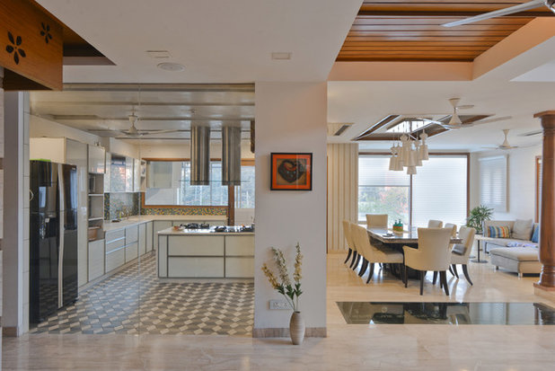 Contemporary Kitchen by SPACES ARCHITECTS@ka