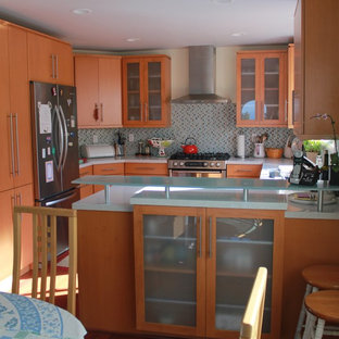 Inspiration for a contemporary kitchen remodel in Los Angeles