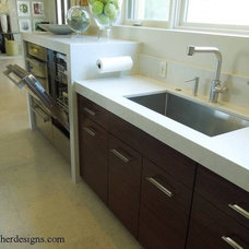 Contemporary Kitchen by Mary Fisher Knott