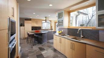 Soft, Contemporary Kitchen