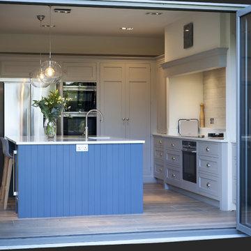Soft Grey Globe Kitchen