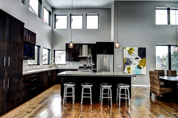 Contemporary Kitchen by Berghuis Construction LLC