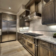 Transitional Kitchen by Cullum Homes and  Renovations