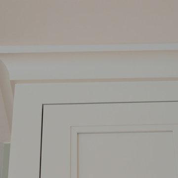 Soft White Modern Kitchen Remodel