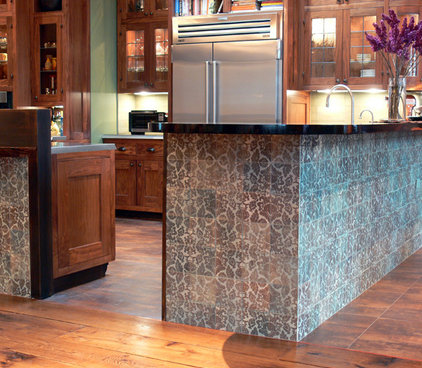 Eclectic Kitchen by Filmore Clark