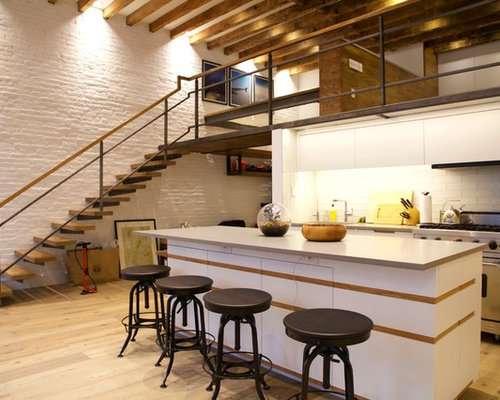 Wooden Floating Stairs Home Design Ideas Pictures