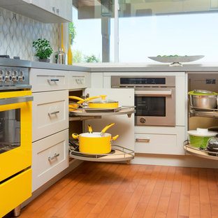 Solana Beach Modern Mix Kitchen & Family Room Remodel