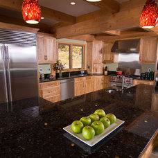 Contemporary Kitchen by Solana James AKBD