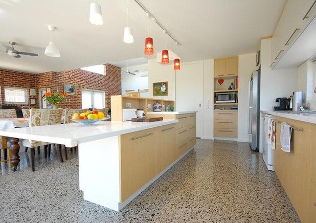 Contemporary Kitchen by Positive Footprints Pty Ltd