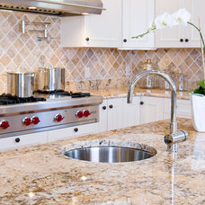 Traditional Kitchen Solarius Granite Countertops