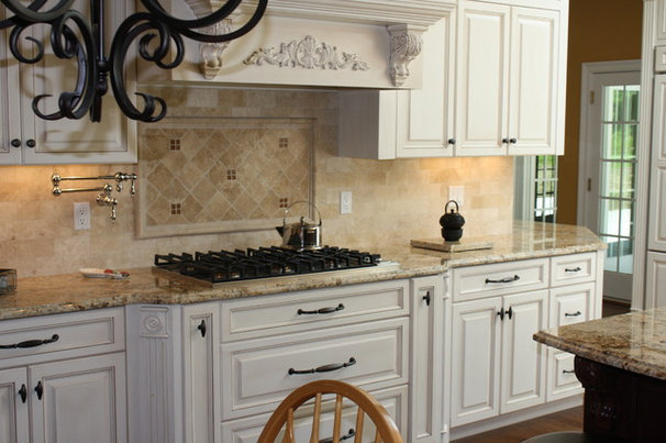 Traditional Kitchen by La Pietra Marble, Inc.