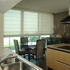 Contemporary Dining Room by Total Window, Inc.