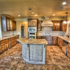 Rustic Kitchen by Wyatt Poindexter of Keller Williams Elite