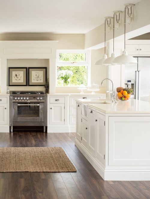 Perfect Inspiration For A Timeless Kitchen Remodel In Dublin With Beaded Inset  Cabinets, White Cabinets And