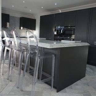 Solid Oak Caneo Grey Shaker Bolero kitchen