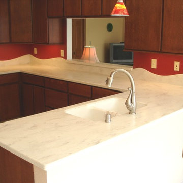 Solid Surface Kitchens