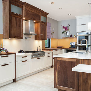 Two Level Upper Cabinets Houzz