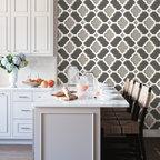 Modern Bungalow Contemporary Kitchen Birmingham By