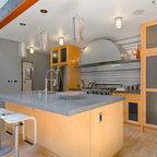 Kitchen industrial kitchen dc metro by bennett for Boro kitchen cabinets inc
